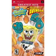 Spongebob Squarepants The Yellow Avenger Sony For PSP UMD With Manual - EE711978