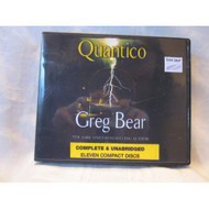 Quantico By Greg Bear :Unabridged CD Audiobook By Greg Bear And Jeff - EE712147