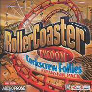 Roller Coaster Tycoon Expansion Pack: Corkscrew Follies PC Software - EE712186