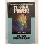 Personal Power Volume 10 Final Breakthrough By Anthony Robbins On - EE712332