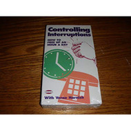 Controlling Interruptions By Verne Harnish On Audio Cassette - EE712801