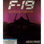 F-19 Stealth Fighter Software - EE713671
