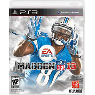 Madden NFL 13 PS3 For PlayStation 3 Football - EE713704