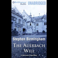 The Auerbach Will By Stephen Birmingham And Stan Adams Narrator And - EE713817