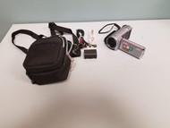 JVC Everio HD Camcorder 40X Optical Zoom Silver Point And GZ-HM30SU - EE713904