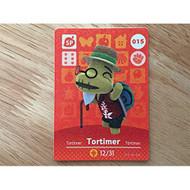 Animal Crossing Nintendo Amiibo Card 15 Tortimer For Wii U - EE713969