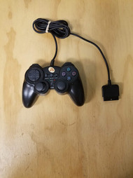 Arsenal Gaming Dual Shock Controller Black PS2 Gamepad For PlayStation - EE714040