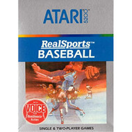 Realsports Baseball For Atari Vintage - EE714135
