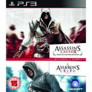Assassin's Creed 1 And 2 Double Pack PS3 PlayStation 3 - ZZ714225