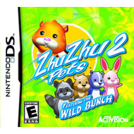 Zhu Zhu Pets 2: Wild Bunch For Nintendo DS DSi 3DS 2DS With Manual and - EE714254