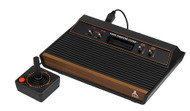 Atari 2600 Video Game Computer System Console Two Controllers - ZZ714683