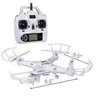 Xtreme Cables Quad Copter Drone With Video White Toy Multi-Color KCJ28 - EE714958