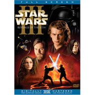 Star Wars Episode III: Revenge Of The Sith Full Screen Edition On DVD - EE715043
