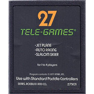 27 Tele-Games Including Jet Plane-Auto Racing-Slalom Skier For Atari - EE715212