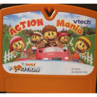 V Smile V Motion Action Mania Game Cartridge For Vtech - EE715414