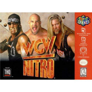 WCW Nitro For N64 Nintendo With Manual and Case - EE715525