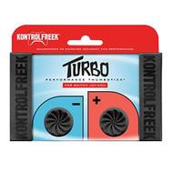 Kontrolfreek Turbo Thumb Grips For Nintendo Switch Joy-Con Black - EE715617