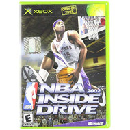 NBA Inside Drive 2002 For Xbox Original Basketball With Manual and - EE715634