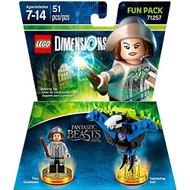 Fantastic Beasts Tina Goldstein Fun Pack Lego Dimensions Figure - EE715645