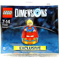 Lego Dimensions Supergirl Exclusive Polybag Figure Character - EE715641