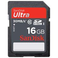 SanDisk SDSDU-016G-A11 16GB Ultra SDHC Uhs-I Card 30MB/S Class 10 - EE715703