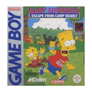 Bart Simpson's Escape From Camp Deadly On Gameboy - EE592359