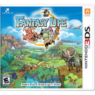 Fantasy Life For 3DS RPG With Manual and Case - EE715815