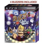 Buzz! Quiz World Bundle For PlayStation 3 PS3 YVR261 - EE716028