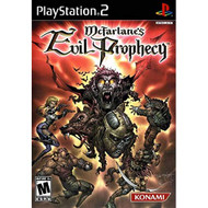 Mcfarlane's Evil Prophecy For PlayStation 2 PS2 With Manual and Case - EE716044