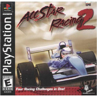 All Star Racing 2 For PlayStation 1 PS1 With Manual and Case - EE716090