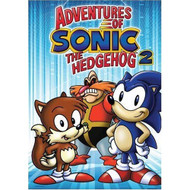Adventures Of Sonic The Hedgehog Vol 2 On DVD With Jaleel White - EE716093