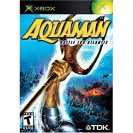 Aquaman: Battle For Atlantis Xbox For Xbox Original With Manual and - EE716176