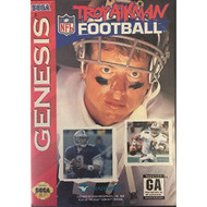 Troy Aikman Football For Sega Genesis Vintage With Manual and Case - EE716199