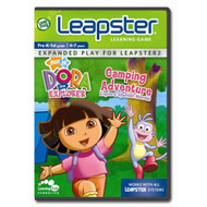 Leapfrog Leapster Learning Game Dora's Camping Adventure For Leap Frog - EE716200
