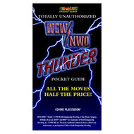 WCW/NWO Thunder Totally Unauthorized Pocket Guide Official Strategy - EE716219