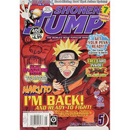 Shonen Jump May 2009 Naruto I'm Back! And Ready To Fight! Strategy - EE716225