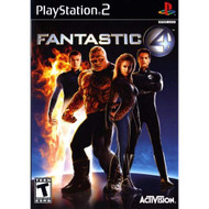 Fantastic Four For PlayStation 2 PS2 4 With Manual and Case - EE716392