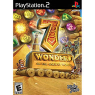 7 Wonders Of The Ancient World For PlayStation 2 PS2 Puzzle With - EE716407