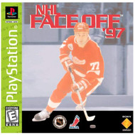 NHL Faceoff 97 For PlayStation 1 Hockey With Manual And Case - EE716431