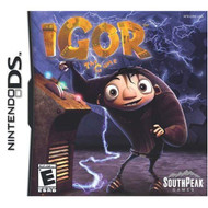 Igor The Game For Nintendo DS DSi 3DS 2DS With Manual and Case - EE716508