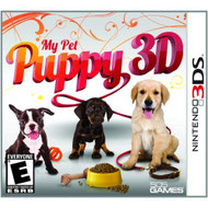 My Pet Puppy 3D Nintendo For 3DS With Manual and Case - EE716528