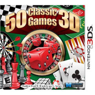 50 Classic Games Nintendo For 3DS Arcade With Manual and Case - EE716533