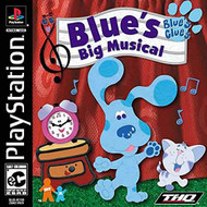 Blue's Clues Blues Big Musical For PlayStation 1 PS1 - EE716581