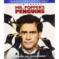 Mr Popper's Penguins Blu-Ray / DVD / On Blu-Ray With Jim Carrey - EE716611
