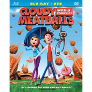 Cloudy With A Chance Of Meatballs Two-Disc Blu-ray DVD Combo [Blu-ray] - EE499974