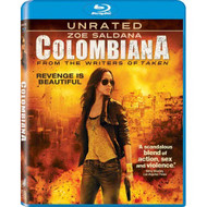 Colombiana Blu-Ray On Blu-Ray With Zoe Saldana - EE716670