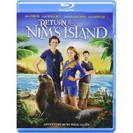 Return To Nim's Island Blu-Ray DVD On Blu-Ray Children - EE716768