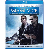 Miami Vice Unrated Director's Edition Blu-Ray On Blu-Ray With Colin - EE716798