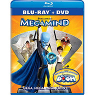 Megamind Two-Disc Blu-Ray/dvd Combo On Blu-Ray With Will Ferrell 2 - EE716800
