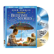 Bedtime Stories Blu-Ray DVD On Blu-Ray With Adam Sandler Disney - EE716834